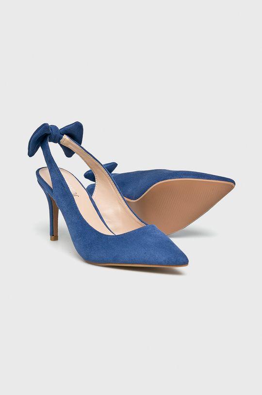 albastru Answear - Pantofi cu toc