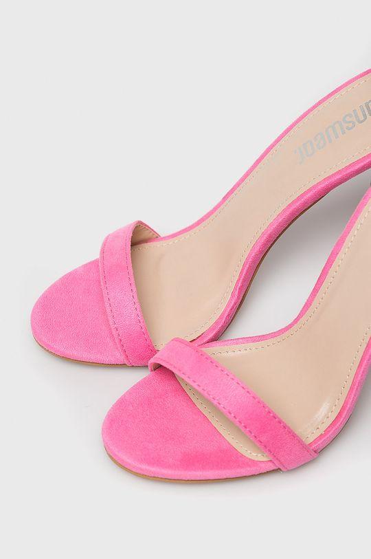 Answear - Sandale Gamba: Material textil Interiorul: Material textil Talpa: Material sintetic Introduceti: Material sintetic