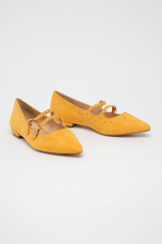Answear Lab - Baleriny żółty