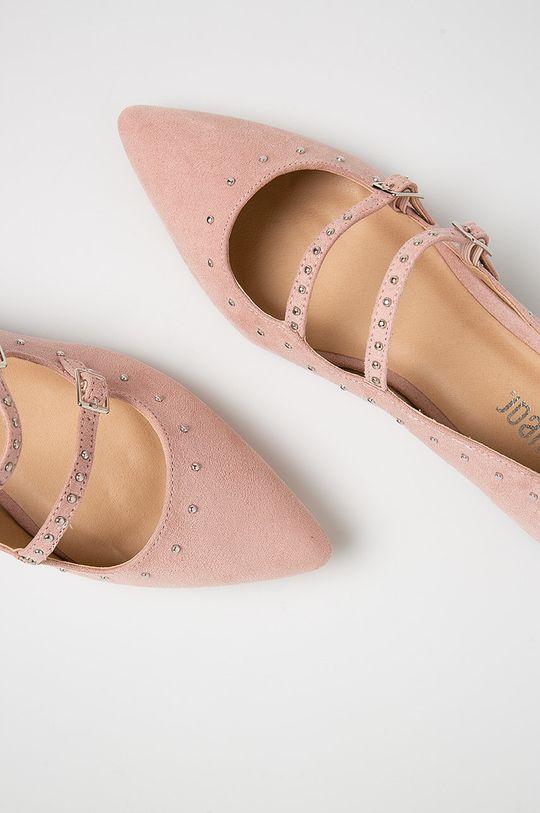 ružová Answear - Baleríny