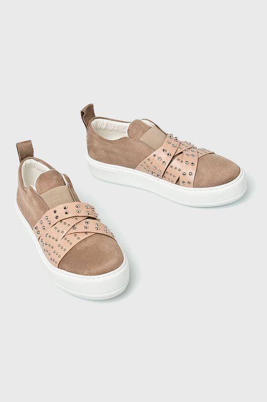 Answear - Pantofi Gamba: Material sintetic, Material textil Interiorul: Material sintetic Talpa: Material sintetic