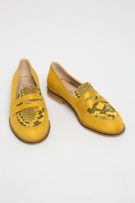 Answear - Mokaszin Crockolover sárga