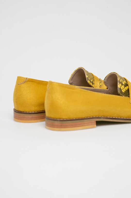 sárga Answear - Mokaszin Crockolover