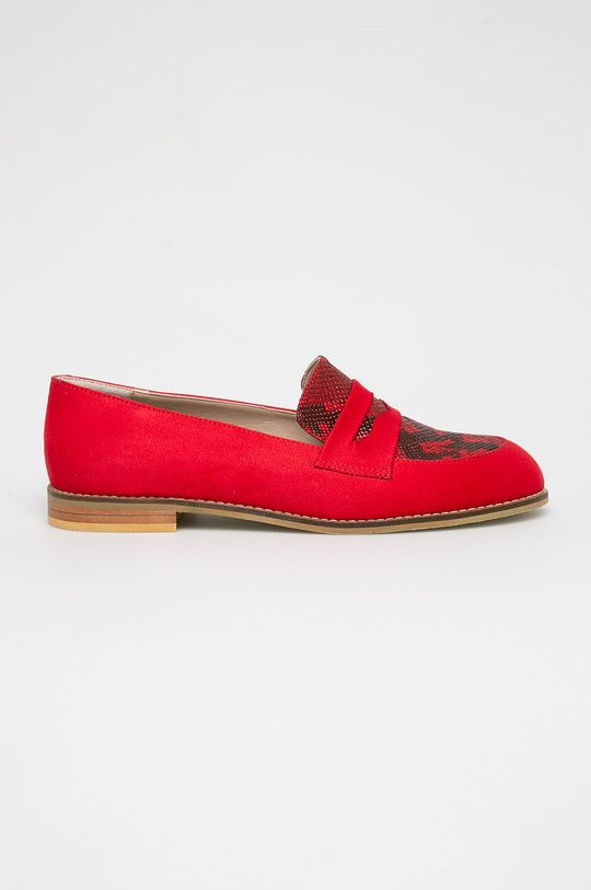 piros Answear - Mokaszin Crockolover Női