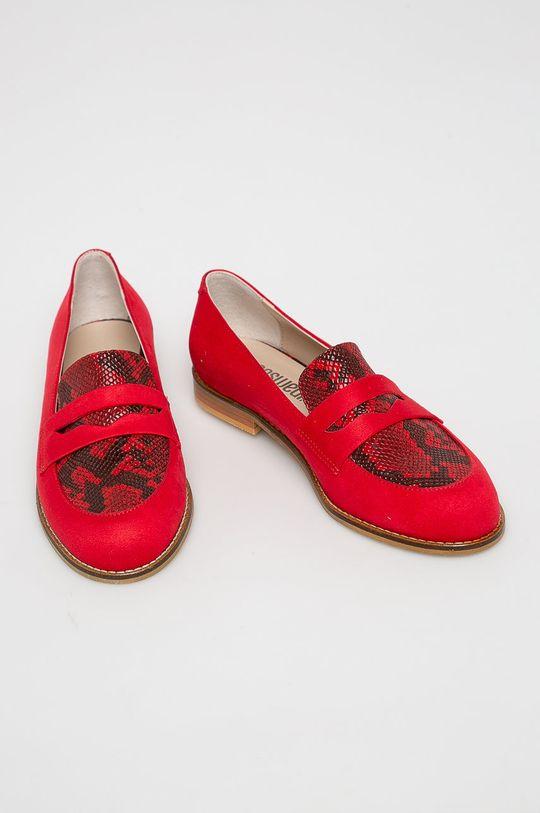 Answear - Mokaszin Crockolover piros
