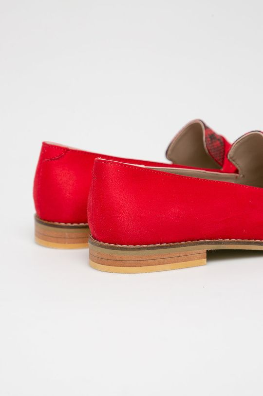 piros Answear - Mokaszin Crockolover