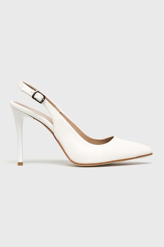 alb Answear - Pantofi cu toc De femei