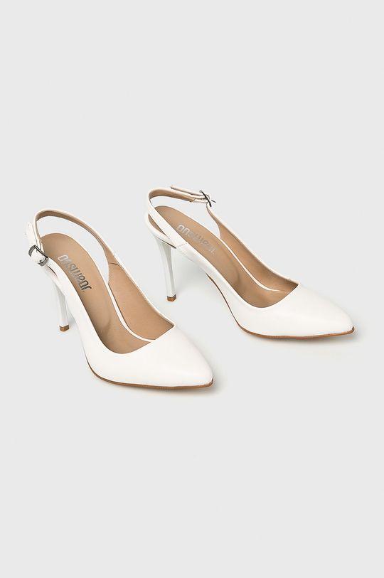 Answear - Pantofi cu toc alb