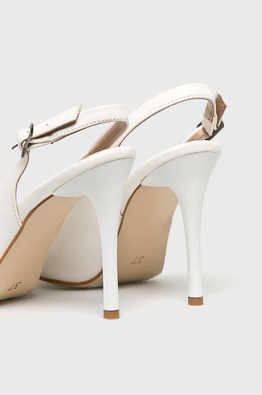 alb Answear - Pantofi cu toc