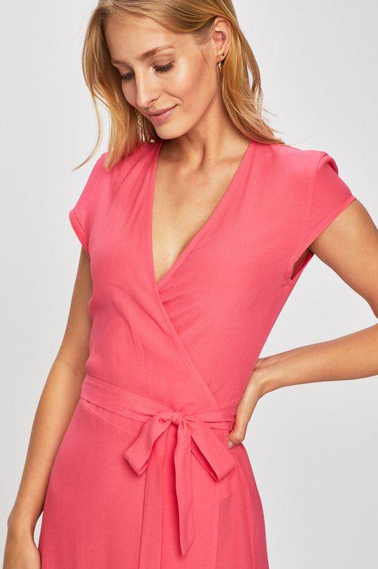 рожевий Answear - Сукня