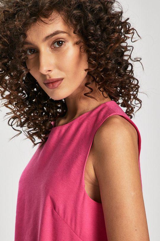 rózsaszín Answear - Ruha Great Escape