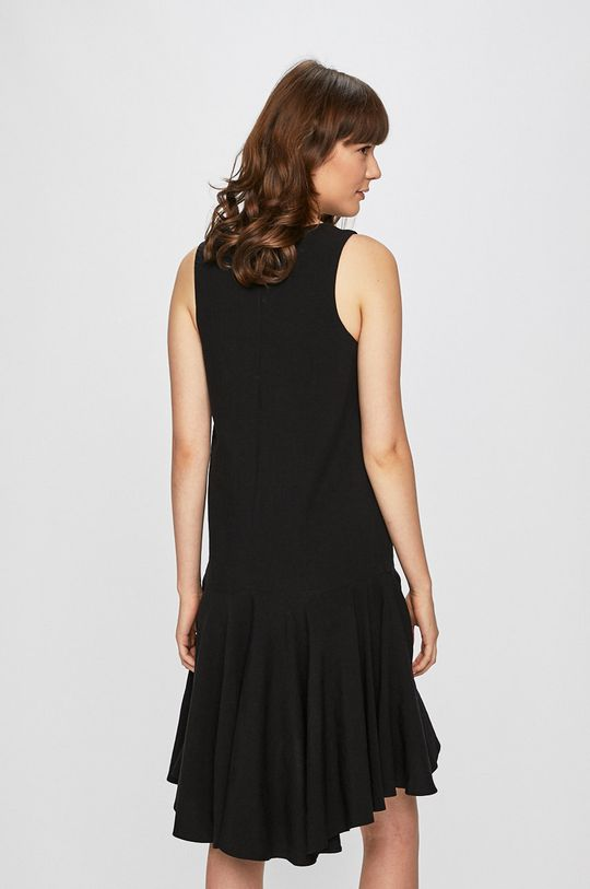 Answear Lab - Sukienka 25 % Len, 75 % Wiskoza,