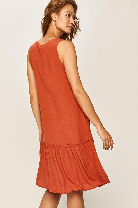 Answear Lab - Sukienka 80 % Bawełna, 20 % Poliester,