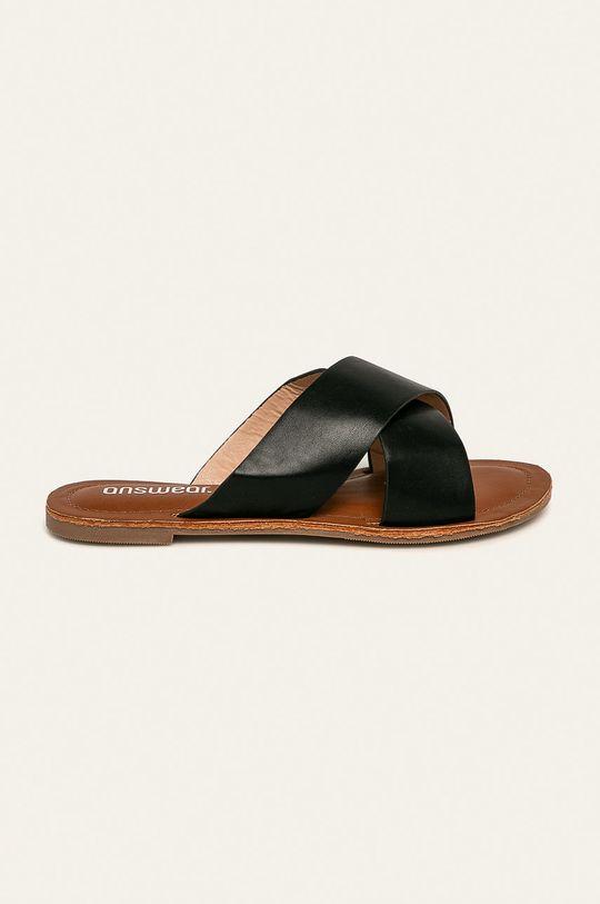 negru Answear - Papuci De femei