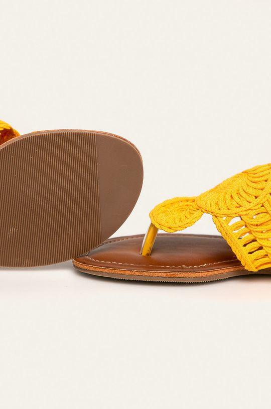 Answear - Japonki Cholewka: Materiał tekstylny, Wnętrze: Materiał syntetyczny, Podeszwa: Materiał syntetyczny