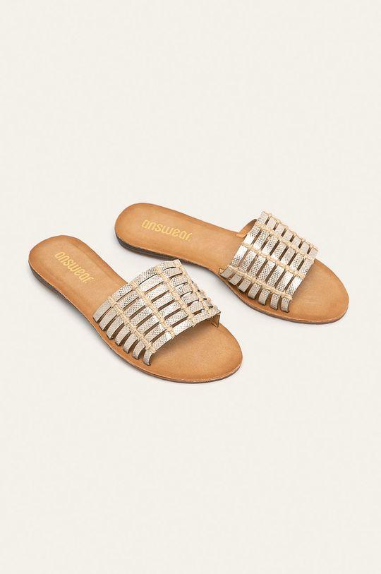 Answear - Papuci argintiu