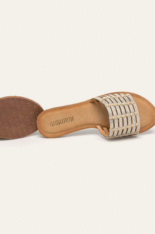Answear - Papuci  Gamba: Material sintetic, Material textil Interiorul: Material sintetic Talpa: Material sintetic