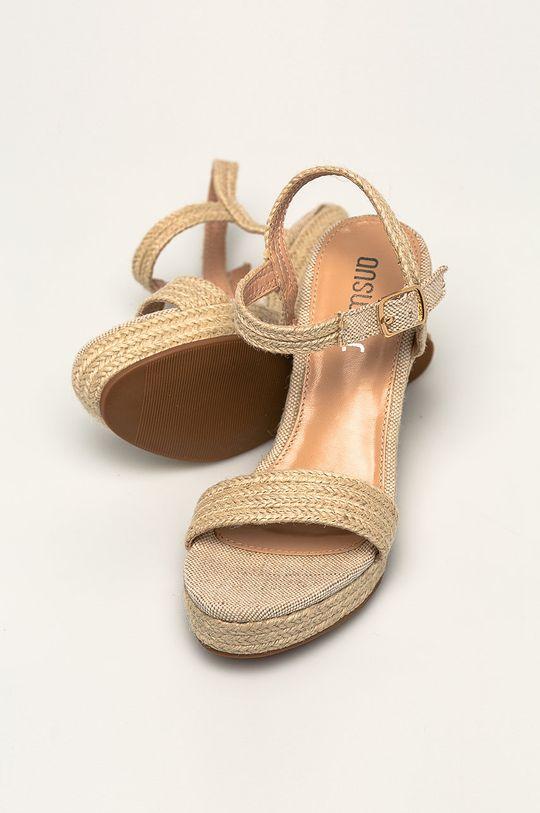 béžová Answear - Sandály