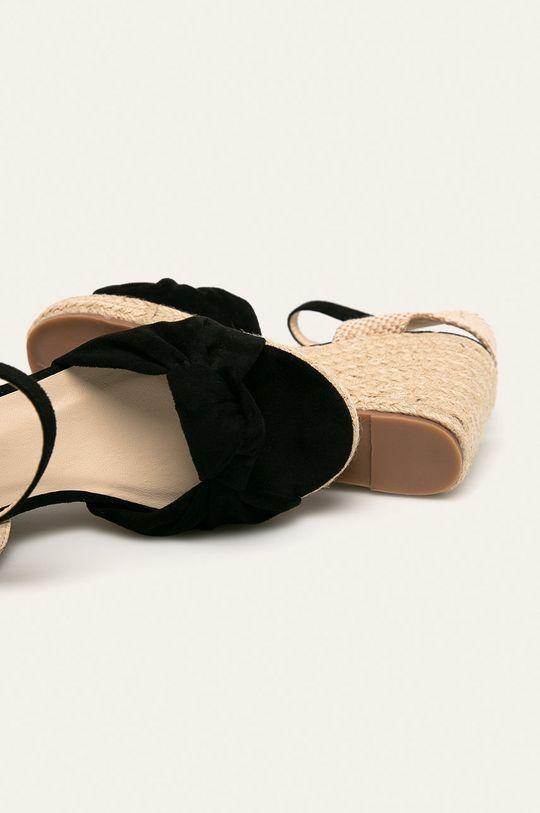 czarny Answear - Sandały