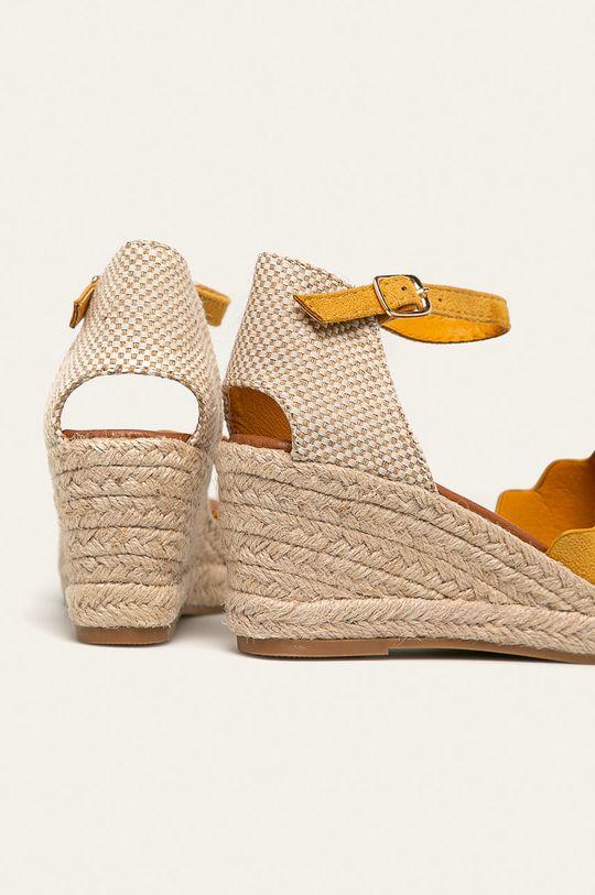 Answear - Sandale  Gamba: Material textil Interiorul: Material sintetic, Material textil Talpa: Material sintetic