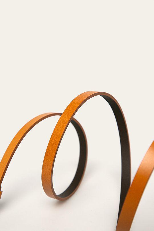 maro auriu Answear - Curea de piele De femei