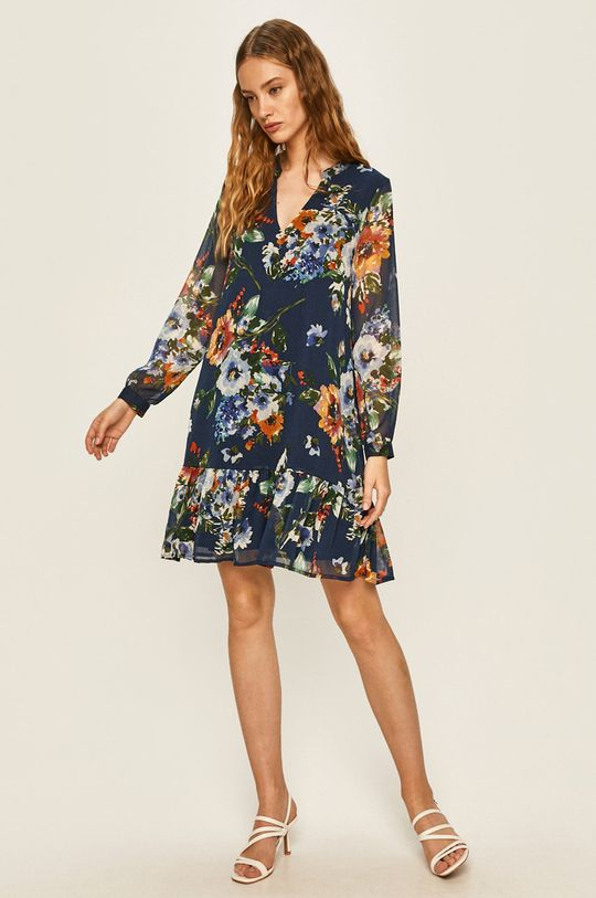 Answear - Šaty oceľová modrá