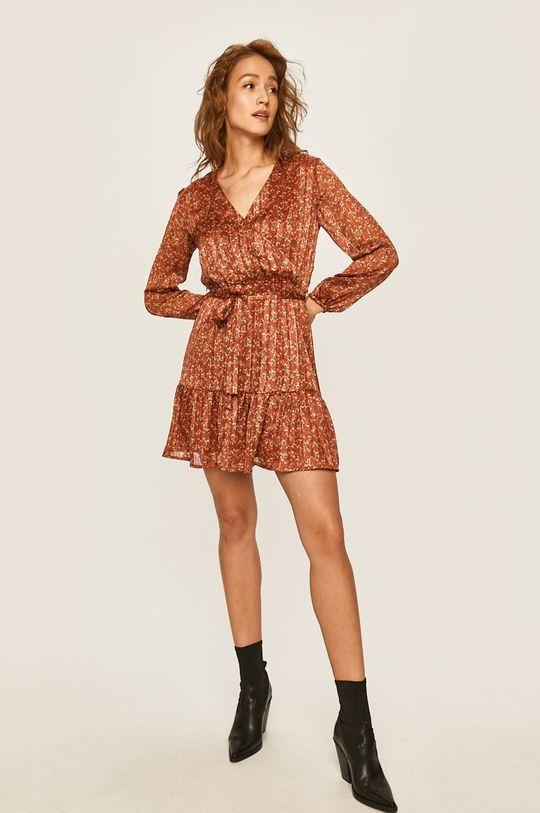 Answear - Šaty ostrá červená