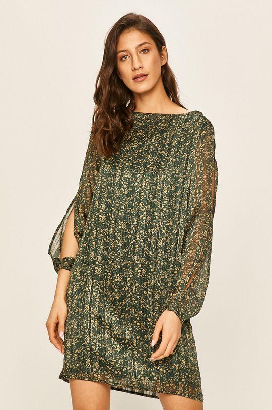 зелений Answear - Сукня