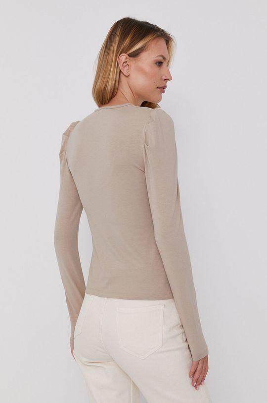 Answear Lab - Tričko s dlouhým rukávem  95% Bavlna, 5% Elastan
