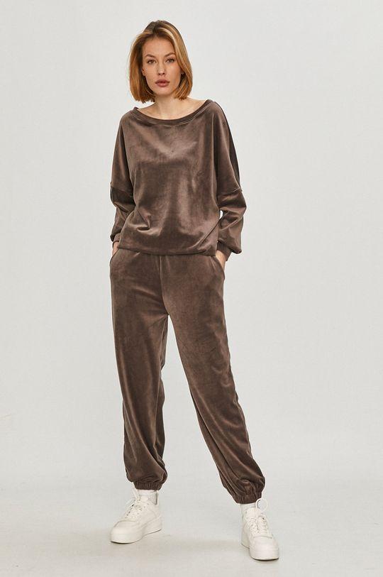 Answear Lab - Mikina  80% Bavlna, 5% Elastan, 15% Polyester