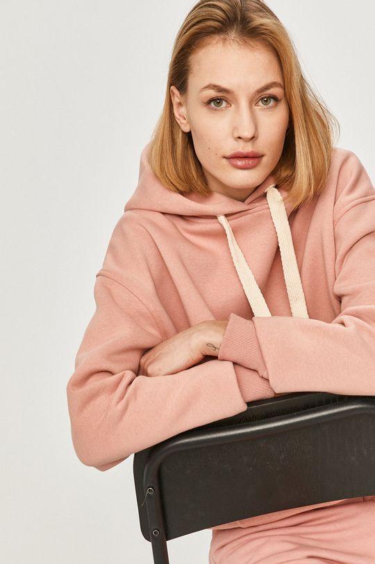 pastelowy różowy Answear Lab - Bluza Damski