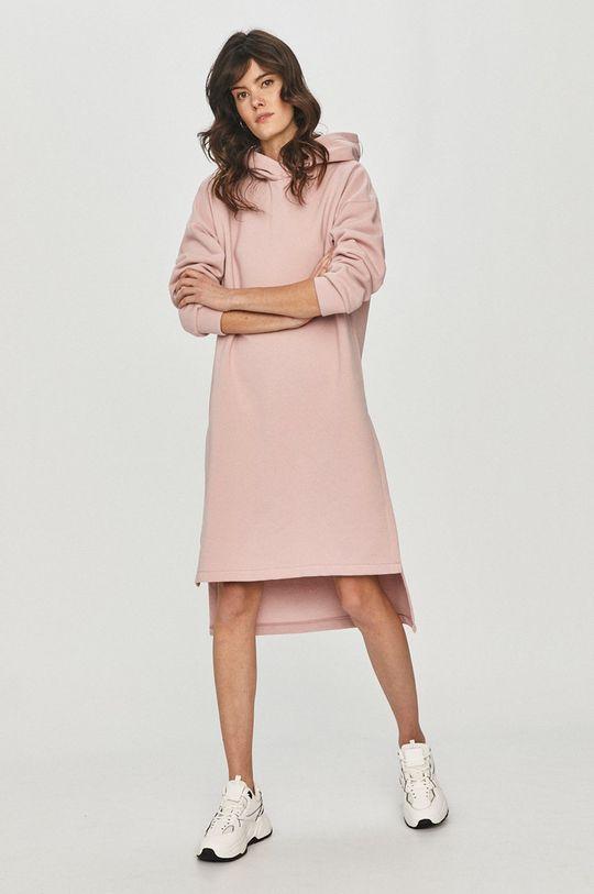 Answear Lab - Bluza pastelowy różowy