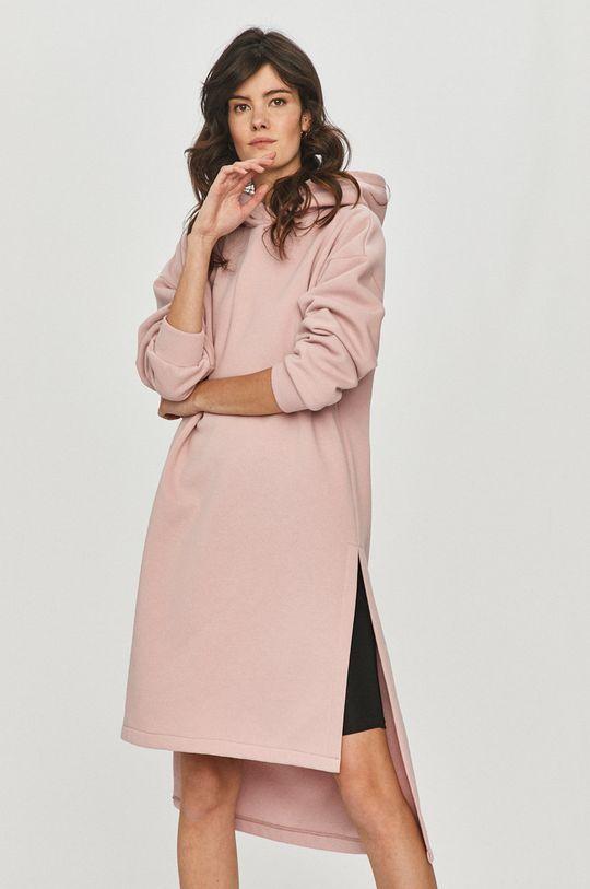pastelowy różowy Answear Lab - Bluza