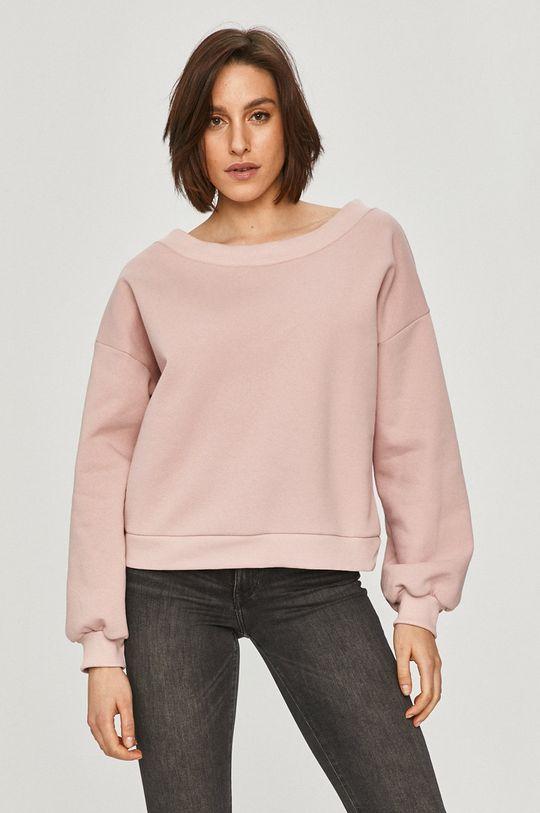 pastelová ružová Answear Lab - Mikina