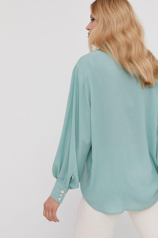 miętowy Answear Lab x Paulina Krupińska Koszula z kolekcji urodzinowej