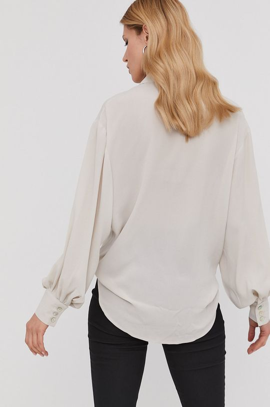 kremowy Answear Lab x Paulina Krupińska Koszula z kolekcji urodzinowej
