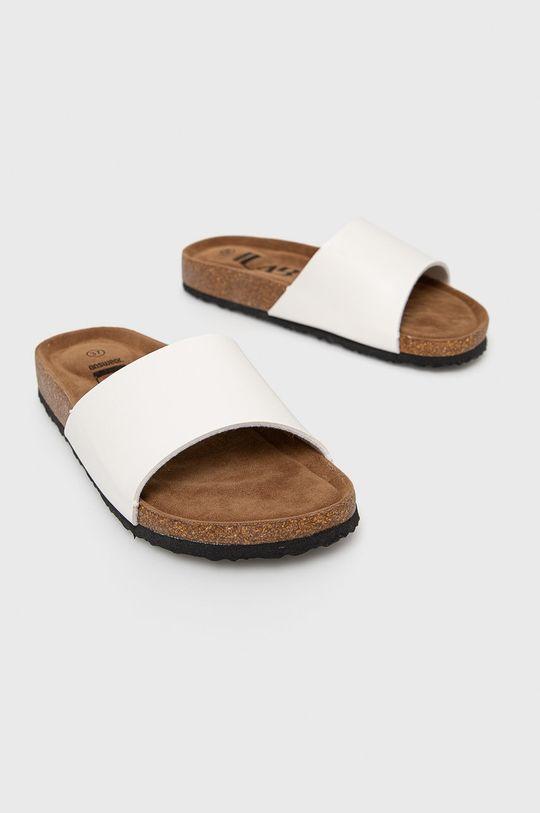 Answear Lab - Pantofle bílá