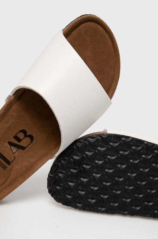 bílá Answear Lab - Pantofle