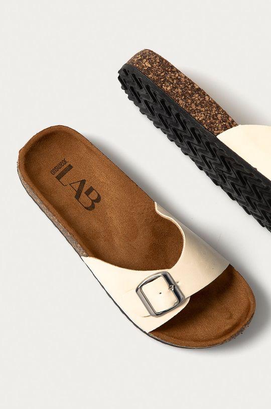 smetanová Answear Lab - Pantofle