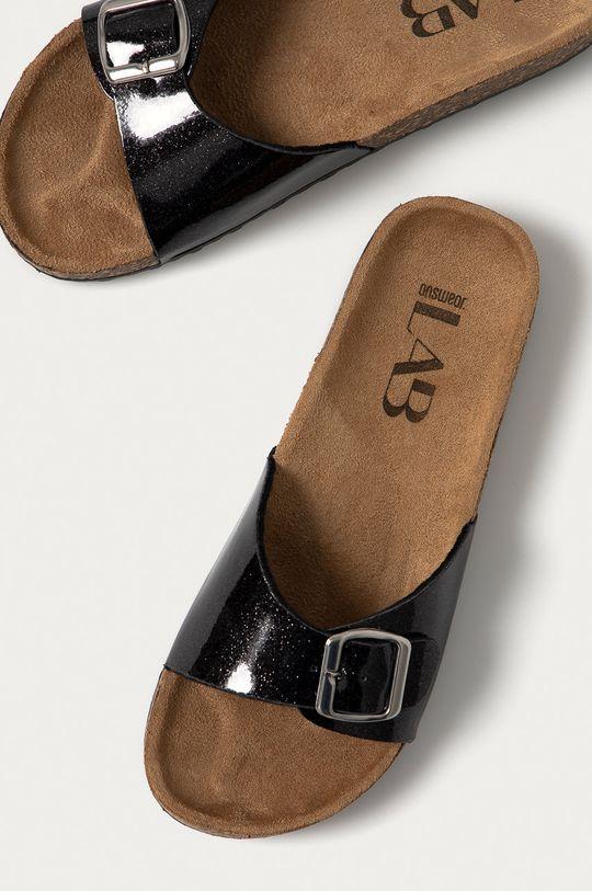 černá Answear Lab - Pantofle