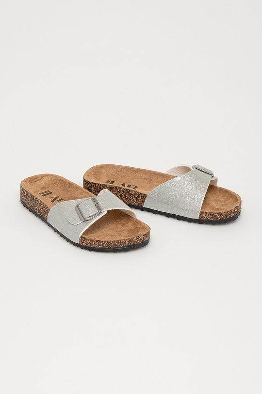 Answear Lab - Pantofle stříbrná