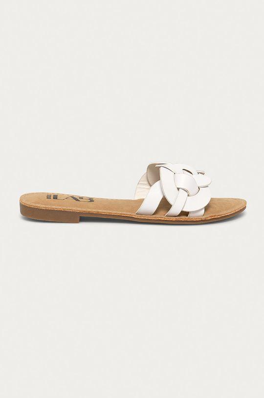 biały Answear Lab - Klapki Damski