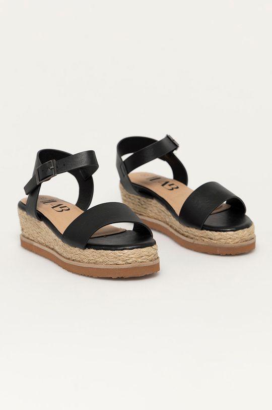 Answear Lab - Sandály černá
