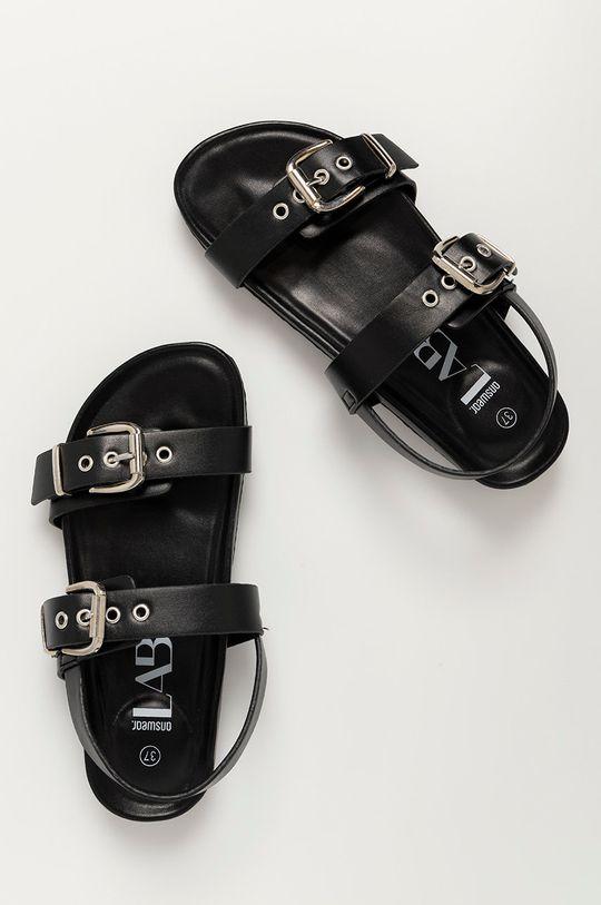 černá Answear Lab - Sandály