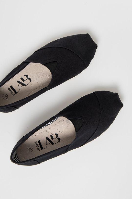 čierna Answear Lab - Espadrilky
