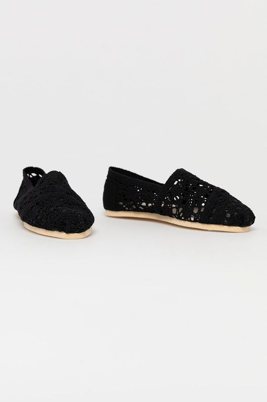 Answear Lab - Espadrilky čierna