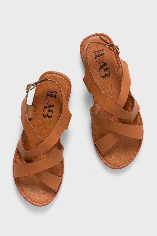 brązowy Answear Lab - Sandały