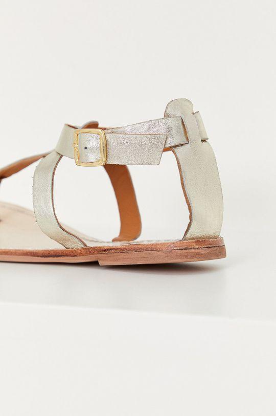 Answear Lab - Sandały skórzane Cholewka: Skóra naturalna, Wnętrze: Skóra naturalna, Podeszwa: Materiał syntetyczny