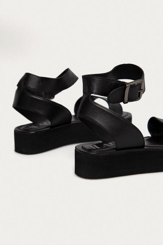 Answear Lab - Kožené sandály  Svršek: Přírodní kůže Vnitřek: Přírodní kůže Podrážka: Umělá hmota