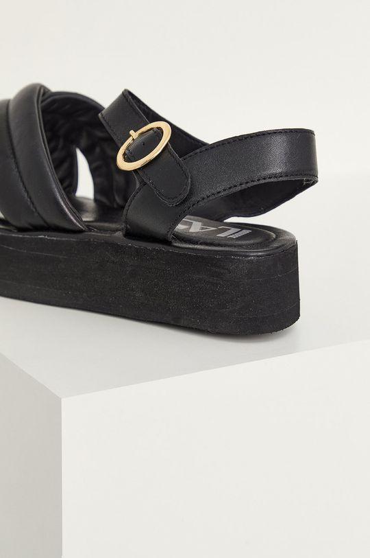 Answear Lab - Kožené sandále  Zvršok: Prírodná koža Vnútro: Prírodná koža Podrážka: Syntetická látka